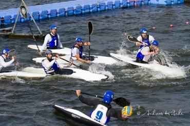 18 Nationen kämpfen bei der Kanupolo Europameisterschaft um den begehrten Titel